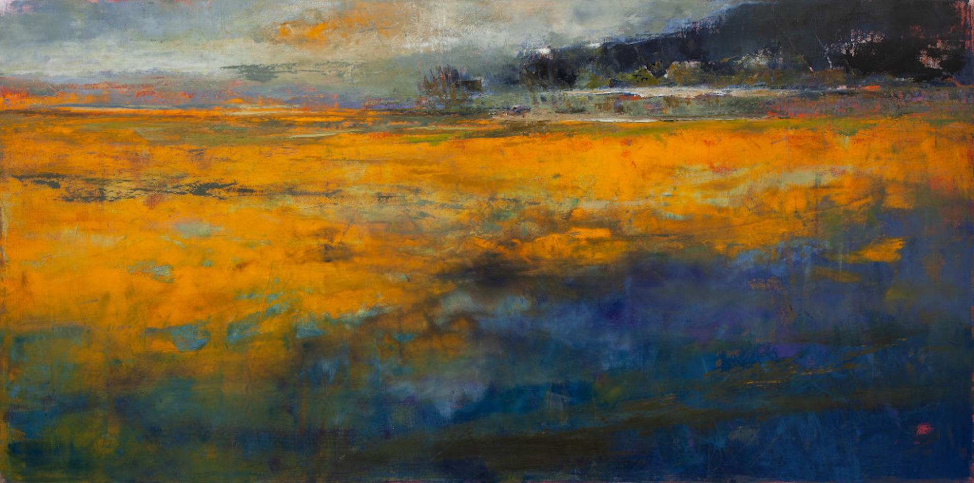 "Marshes - 2019 - 36"" x 72"""